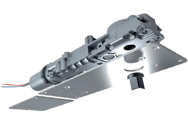 Janus asservi 3D Pivot Janus asservi (installation au sol en linteau).