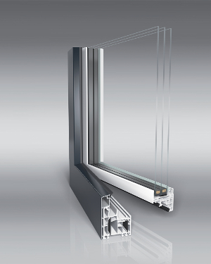 Energeto® 5000 view : capotage aluminium signé aluplast ©Aluplast
