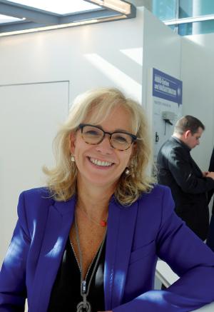 Valérie Barisain-Monrose, Gérante de Teleco Automation France, rappelle l'offre unique et très diversifiée de Teleco ©V&MA