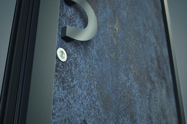Parmi l'offre de Finstral, 2 modèles esthétiques font sensation : l'aspect verre émaillé et le panneau céramique ©Finstral