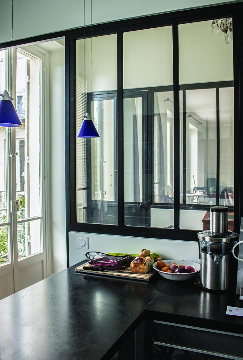 la cloison type atelier de saint gobain transforme un. Black Bedroom Furniture Sets. Home Design Ideas