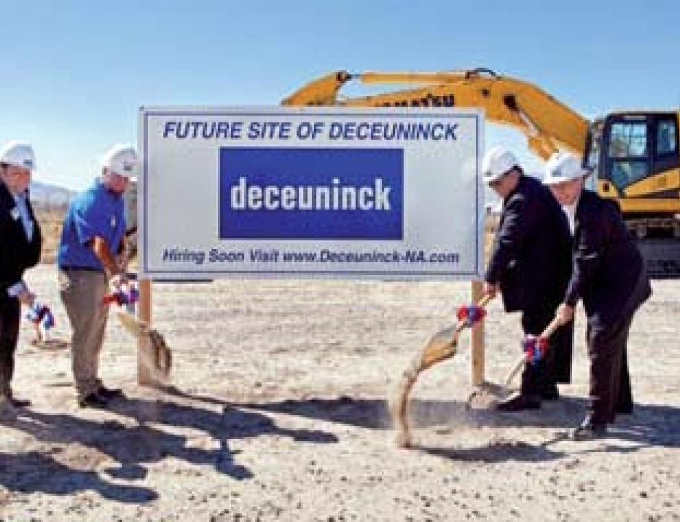 une nouvelle usine deceuninck aux États-unis actualités