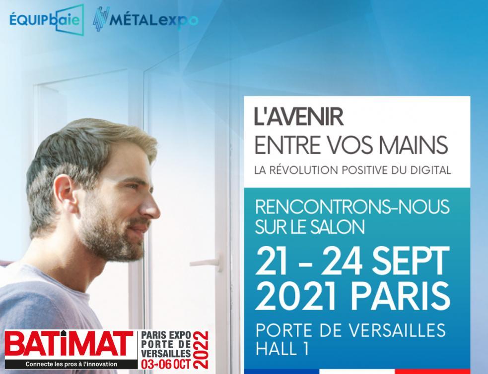 Salon Porte De Versailles Calendrier 2022 Grand retour de Batimat Porte de Versailles en 2022 ! Equipbaie